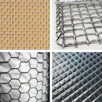 "Wholesale Durable galvanized iron wire mesh 1"", 1.5"", 2"" for road, railway, airport from china suppliers"