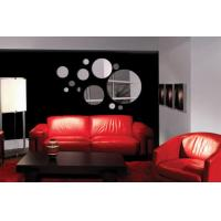 Wholesale Unbreakable Silver CM-103 Bubble Shaped Acrylic Wall Mirror Sticker for Living Room from china suppliers