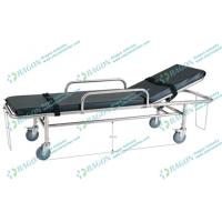 Wholesale Backrest adjustable stainless steel ambulance stretcher with opening circles from china suppliers