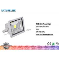 Wholesale IP65 Led Flood Light White , High Power Led Flood Lights Outdoor 20W  Corrosion Resistant  Silicone Gaskets from china suppliers