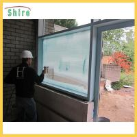 Wholesale Adhesive Backing Glass Safety Film , Glass Uv Protection Film Construction Use from china suppliers