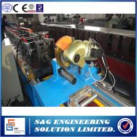 Wholesale 60mm Octagonal Tube Cold Roll Forming Machine 0.4 - 1.2mm Thickness from china suppliers