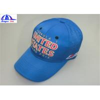 Wholesale Embroidery 100% Polyester 6 Panel Baseball Sports Cap / Mens Baseball Caps from china suppliers