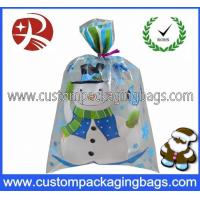 Wholesale Clear Snowman Plastic Treat Bags Anti-Water For Supermarket from china suppliers
