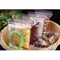 Wholesale Good Quality Custom Made Clear Plastic PE bags with zipper lock from china suppliers