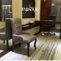 Wholesale Wooden Restaurant Purple Violet Modern Dining Room Chairs with Tufted Back from china suppliers