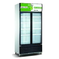 Wholesale Vertical Showcase 818L Commercial Refrigerator Freezer LC-608M2AF For Supermarket from china suppliers