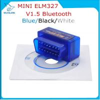 Wholesale Blue V1.5 Super Bluetooth ELM 327 optional Version 1.5 elm327 interface supports Torque Car Code from china suppliers