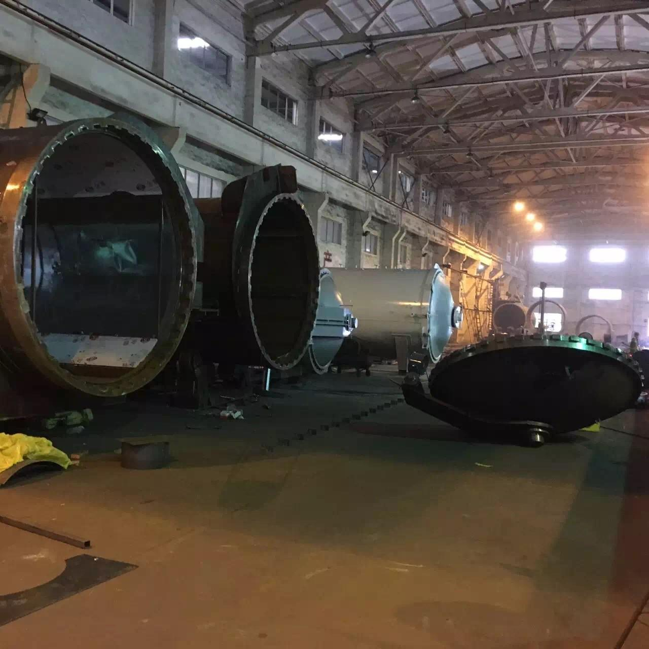 Wholesale Rubber Vulcanizing Autoclave With Safety Interlock , Automatic Control High Temperature And Low Pressure from china suppliers