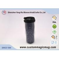 Wholesale Customizable Large Double Wall Mugs Plastic With Interlayer 12oz 350ml from china suppliers