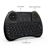 Wholesale Colorful Backlit H9 Mini Wireless Keyboard And Mouse With Touchpad / TV Box / PC from china suppliers