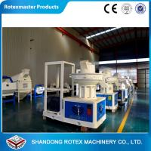 Wholesale Vertical Ring Die Wood Pellet Machine , Wood Pellet Press Machine Capacity 1-1.5T / H from china suppliers