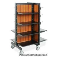 Wholesale Metal rack with the wheels for the garment from china suppliers