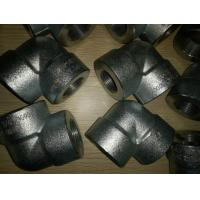 Quality ASTM A105 Galvanized 90 degree Forged Pipe Fittings 3/4 Inch Elbow for sale
