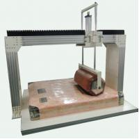 Wholesale Mattress Rollator Durability Testing Machine , PLC Control Lab Testing Equipment from china suppliers