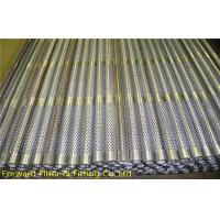 Wholesale Center Muffler Perforated Metal Tubing Stainless Steel , Filtration / Separation Tubes from china suppliers