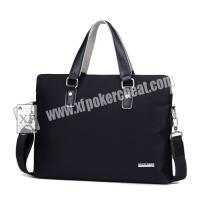 Wholesale Custom Poker Casino Cheating Devices / Leather Man Handbag For Card Exchanger from china suppliers
