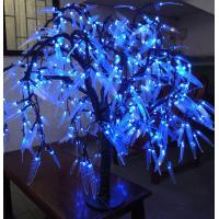 Wholesale Blue led willow tree Christmas decorations from china suppliers