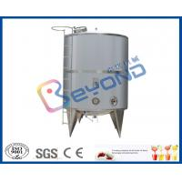 Wholesale Single Layer Stainless Steel Milk Storage Tank For Juice Storage Tank SGS / CE / ISO9001 from china suppliers