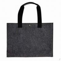 Wholesale Promotional Shopping Bag, Made of Eco-friendly Felt, Various Colors are Available from china suppliers