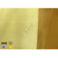 Wholesale Vest / Helmet Plain Woven Kevlar Fabric High Tensile Fire Reisitance from china suppliers