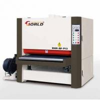 Wholesale 43/48/51 inches Width Plywood MDF Particle Board Door 3 Heads Widebelt Calibration Sanding Polishing Sander SR-RP-P13 from china suppliers