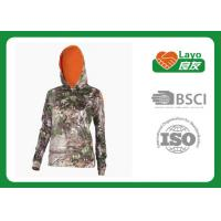 Wholesale Customized Style Camo Hoodie Sweatshirt Long Sleeve Anti - Pilling from china suppliers