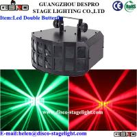 Wholesale 2*10W DMX LED Disco Lights RGBW Double Butterfly Stage Light For Nightclub from china suppliers