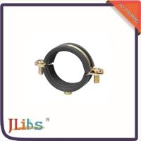 Wholesale EPDM Rubber Lined Split Pipe Clamp Quick Release Carben Steel Material from china suppliers