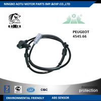 Wholesale CE Car wheel speed sensor automobile part for PEUGEOT CITROEN from china suppliers