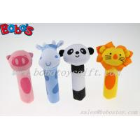 Quality High Quanlity Soft Infant Lion Toy Plush Baby Stick Toys for sale