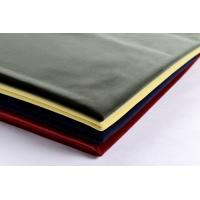 Polyester Bonding Plain Upholstery Fabric Like Silk Velvet Fabric For Home Textile