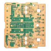 Wholesale 8 Layer PCB Printed Circuit Board Fabrication Hard Gold Au 30u ENIG for Military from china suppliers