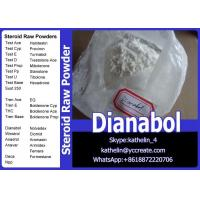 Wholesale Oral Steroid Hormone Raw Powder Methandienone / Dianabol / D-Bol Cycle CAS No. 72-63-9 from china suppliers