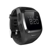 Wholesale GPS GSM SIM Card Wrist Watch GPS Tracker Voice Call Blue And Black from china suppliers