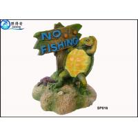 Wholesale Household Eco Friendly Unusual Large Fish Tank Ornaments Decoration With Notice Signs from china suppliers