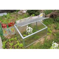 Wholesale 100 x 60 x 60cm Silver Color Cold Frame Series Aluminum Greenhouse from china suppliers
