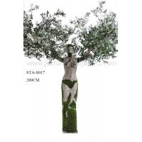 Wholesale 280CM Decoration Artificial Olive Statue Tree With Fruits For Hall / Stores / Display from china suppliers