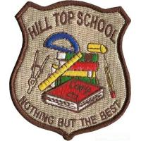 Wholesale Embroidered school badges, China factory for wholesale embroidered police patch badges, from china suppliers