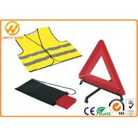 Wholesale Reflective Warning Triangle , Auto Safety First Aid Breakdown Warning Triangle  from china suppliers