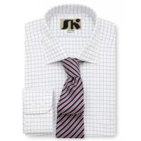 Buy cheap Men's classic shirts » Men's Yarn Dyed Check Cotton Cut Away Collar Shirt from wholesalers