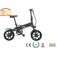 Wholesale Battery Powered Motorized Folding Bicycle , Long Range Foldaway Electric Bike from china suppliers