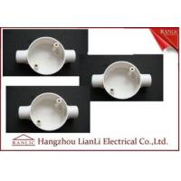 Wholesale White Conduit Terminal Box Waterproof PVC Conduit and Fittings Two Way from china suppliers