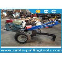 Wholesale 5 Ton Double Drum Tractor Winch With Water-Cooled Diesel Engine For Cable Pulling from china suppliers