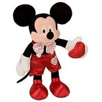 Wholesale Hot and Custom Valentines Day Stuffed Toys Mickey Mouse Plush Doll 16 inch from china suppliers