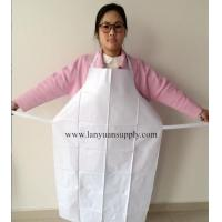 Wholesale White PVC Cooking Kitchen Apron with Welding Ties/Kitchen Apron/Cooking Apron/PVC Apron from china suppliers