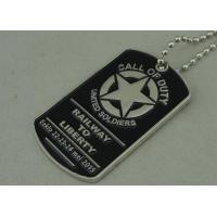 Wholesale Military Die Casting Zinc Alloy Metal Pet Tag Dog Id Tags Nickel Plating from china suppliers