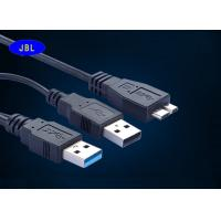 Wholesale Samsung Galaxy Note3 S5 Black 3.0 USB Cable , USB 3.0 21 PinCable 12 Months Warranty from china suppliers