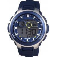 Wholesale 100m Water Resistant Men Digital Watches Gents With Silicon Strap from china suppliers