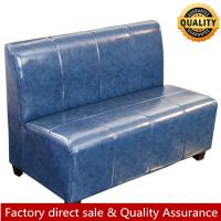 China Simplify hot sale leather booth seating for restaurant fast food cheap leather booth custom made size color sofa on sale
